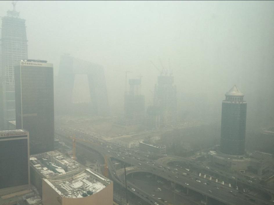 Πεκίνο ρύπανση