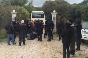 Πρόσφυγες στο Λαύριο