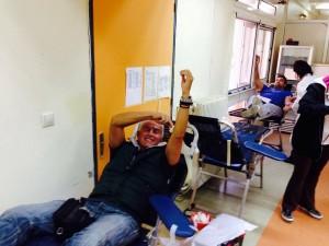 εθελοντική αιμοδοσία Μαρκοπούλου
