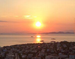 Θέα από Πανόραμα Σαρωνίδας