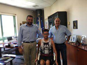 Παραολυμπιονίκης Μακροδημήτρης Αριστείδης